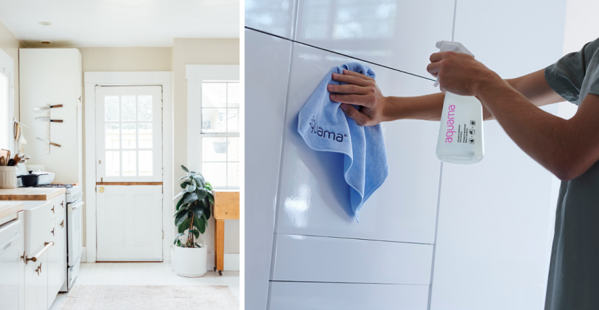 Experience a day with aquama®: join the disinfecting routine!